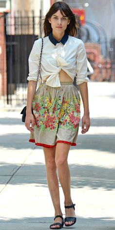 Look of the Day: July 24, 2013 - Alexa Chung : InStyle.com