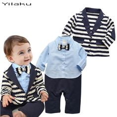Cheap suit swim, Buy Quality suit drawing directly from China suit custom Suppliers: 	baby girl fashion clothes baby boy clothes summer Toddler Boys Baby Clothes Set  Baby Outfits Blazer+Jumpsuit Baby