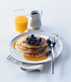 These dairy-free pancakes are a great alternative to the usual recipe on Pancake Day.