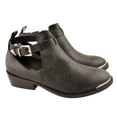6fbcd55b172f Cool shoe-boot with cut away sides