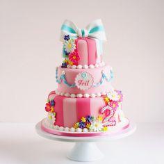 sugar cake for 2 year anniversary
