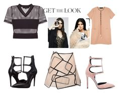 """Untitled #614"" by malie-queen ❤ liked on Polyvore featuring Kendall + Kylie, Topshop, PacSun, GetTheLook and celebritysiblings"