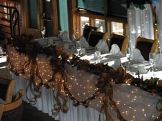 fall head table decorations for wedding - Google Search