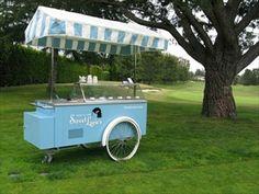 Sweet Lucie's ice-cream cart