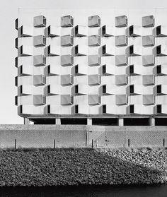 Belgacom, Gent. Car park, Belgium
