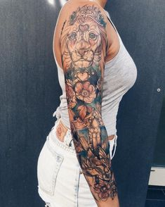 Amazing Sleeve Tattoos For Women (91)