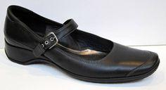 ECCO Black Leather Mary Jane Size 42/US 11-11.5 #Ecco #MaryJanes