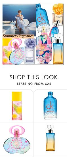 """""""Summer Fragrance"""" by arethaman ❤ liked on Polyvore featuring beauty, Elizabeth Arden, Calvin Klein, Salvatore Ferragamo, Victoria's Secret, perfume, scent and summerfragrance"""