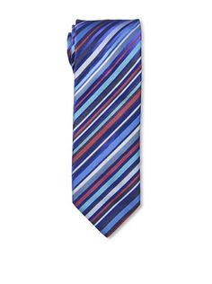 63% OFF Duchamp Men's Mimic Stripe Tie, Cruise