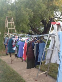 1000 Images About Yard Sale On Pinterest Clothing Racks