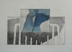 Werk 54 van Loek Klinkhamer | ruimte, ingelijst