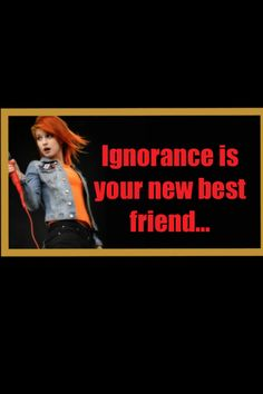 Ignorance by paramore