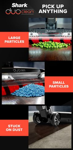 DuoClean is reinventing floorcare. With two brushrolls in a single cleaner head, you can take on large particles, small particles, and stuck-on dust with ease. Discount Appliances, Diy Household Tips, Cleaning Hacks, Grill Cleaning, Shark Vacuum, How Do You Clean, Clean Grill, Cycling Tips, Cordless Vacuum