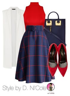 """""""Untitled #2675"""" by stylebydnicole ❤ liked on Polyvore featuring мода, Sophie Hulme, WearAll, Chicwish и Yves Saint Laurent"""