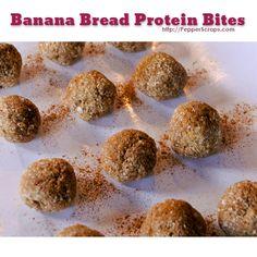 Banana Bread-Protein-Bites