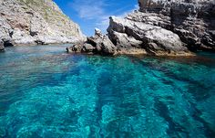 Marettimo has beautiful beaches, water that is ideal for snorkelling, and caves to admire.