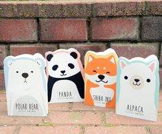 #bear #lama #panda #polarbear #note Cute Notebooks, Shiba, Polar Bear, Booklet, Panda, Cute Animals, Funny Quotes, Cartoon, Collection