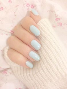 #ongles #bleu
