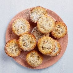 The buttery bakes: Tamal Ray's lemon and ginger friands.