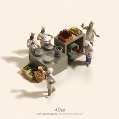 Miniature Photography: Kitchen