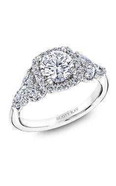 Shop Scott Kay M2574RM515 Engagement rings | Bailey Banks & Biddle
