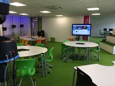 Learning spaces... This is called The Hive at Westfield Junior School. Love this space and lucky to have taught in it too!