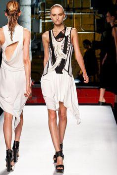 Helmut Lang Spring 2012 Ready-to-Wear Fashion Show - Anabela Belikova