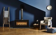 The landscape Studio 2 Freestanding offers an expansive flame view and a host of styling choices to suit your interior. Flame visuals can be tailored with Interior, Gas Fires, Home, Gas, Contemporary, Studio, Stove, Freestanding Stove, Lounge