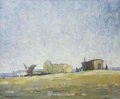 Millard Sheets-On the Beach