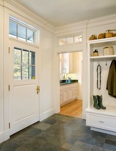 Interior Wall Transom Windows   Google Search Slate Floor Kitchen, Kitchen  Flooring, Transom Windows