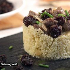 Cuscús de cordero al estilo mozárabe, Receta Petitchef Chia Seeds, Quinoa, Catering, Grains, Food And Drink, Rice, Dining, Cooking, Desserts
