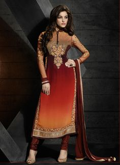 http://www.sareesaga.com/index.php?route=product/product&product_id=21281 Work:Embroidered Resham WorkStyle:Salwar suit Shipping Time:10 to 12 DaysOccasion:Party Festival Fabric:GeorgetteColour:Brown For Inquiry Or Any Query Related To Product,  Contact :- +91 9825192886
