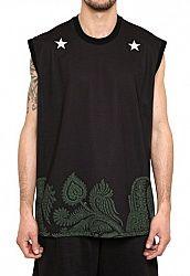 9157f878472 GIVENCHY - STARS PAISLEY JERSEY OVERSIZED T-SHIRT Givenchy Man