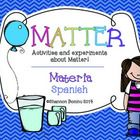 Perfect Matter unit for my dual language classroom! Can't wait to use it!
