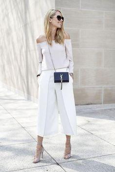 Fichamos una de las tendencias del año y 35 ideas para combinarla: los pantalones culotte