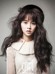 Kim So Hyun for Elle Girl Korea January 2013