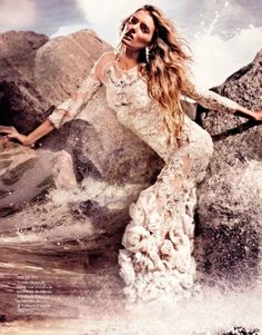 Wedding Dress Possibility For Certain!...  Vogue Spain May 2012 Editorial - Lily Donaldson