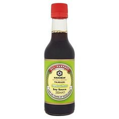 TRUCO: Sustituir la salsa de soja por Tamari (salsa de soja sin gluten)