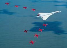 Concorde & The Red Arrows