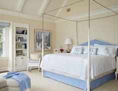 Michigan Summer Home - Traditional - Bedroom - other metro - by Tom Stringer Design Partners Benjamin Moore Lambskin 1051