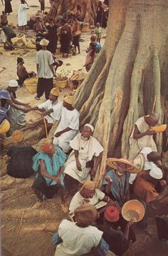 Market day at Yenndouma  National Geographic