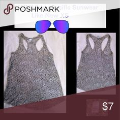 Lilu from Pacific Sunwear XS Lk Nw Size XS. The brand is Lilu from Pacific Sunwear.  Very lightweight and comfortable.  Cute animal design. Like New!! Bundle for 10% discount!! Lilu Tops Tank Tops