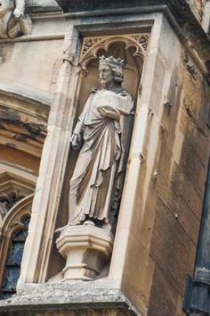 Statue niche, south wall St. George's Chapel, Windsor Castle