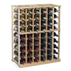 Best Wine Rack   NFINITY Wine Rack Kit  6 Column Half Height Natural Finish  Solid Mahogany *** Check out the image by visiting the link.(It is Amazon affiliate link) #commentall