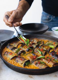 Yotam Ottolenghi's Stuffed Aubergines in a Curry and Coconut Dal Yotam Ottolenghi, Ottolenghi Recipes, Ottolenghi Cookbook, Indian Food Recipes, Vegetarian Recipes, Cooking Recipes, Healthy Recipes, Ethnic Recipes, Recipes