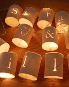 personalized lanterns.