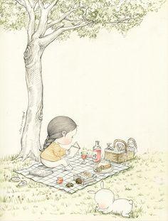 가을 냄새 (Scent of autumn) by 꼬닐리오 on Grafolio