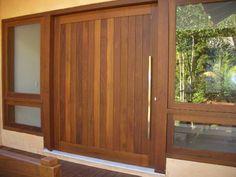 porta pivotante madeira de demolicao - Pesquisa Google