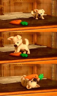 Aww, little Bolt! :)