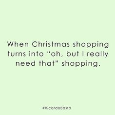 The Christmas shopping struggle is real